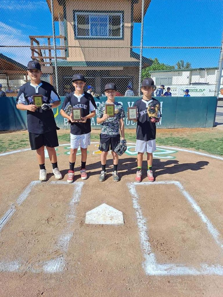 Around the Horn Winners Rockies (Majors Division)