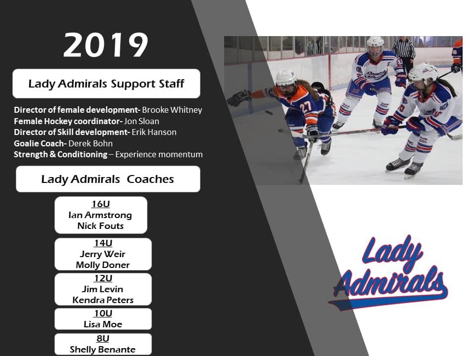 Lady Admirals 2019-2020