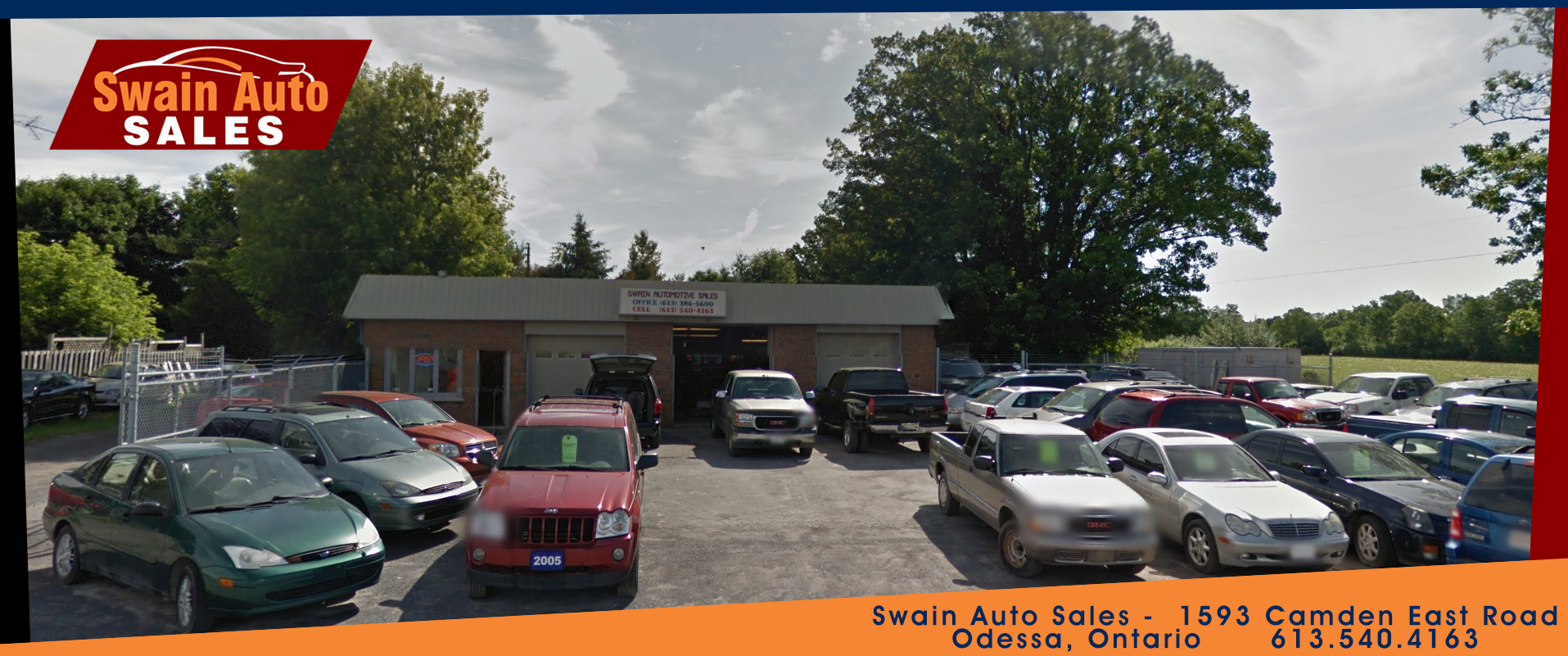 Swain Auto Sales in Odessa Ontario and Used Car Sales and quality auto sales