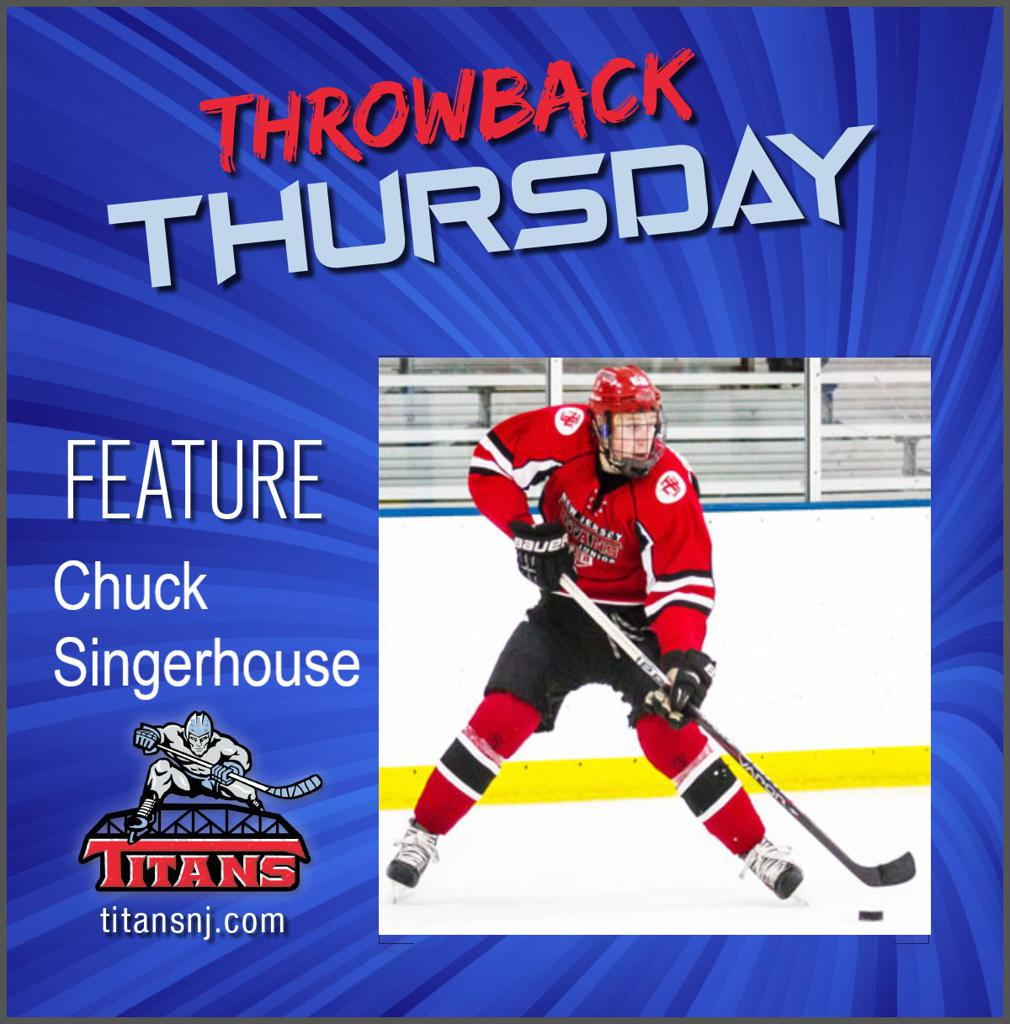 May 7, 2020 Throwback Thursday edition features Chuck Singerhouse