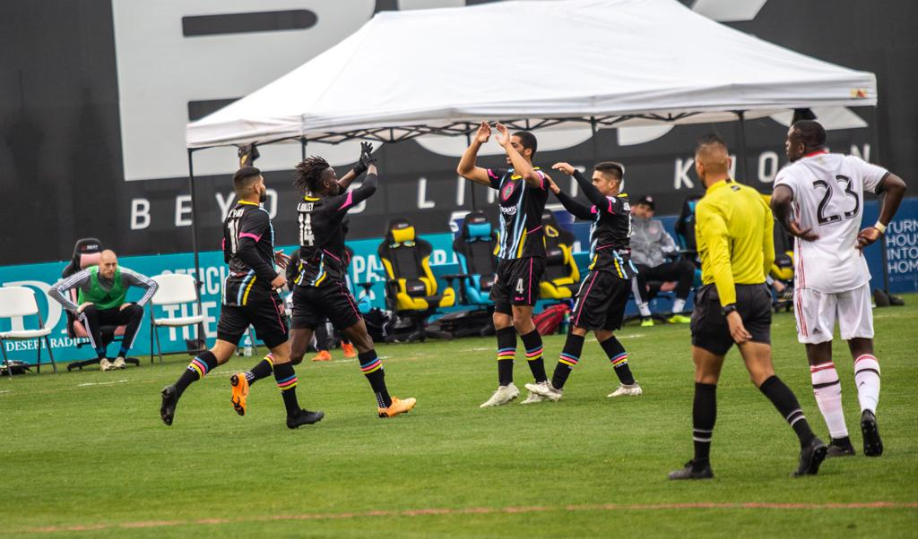 After scoring 4 goals in the 3 matches of Major League Soccer Spring Training 2018, Lights FC surpassed that number in their first match of 2019.