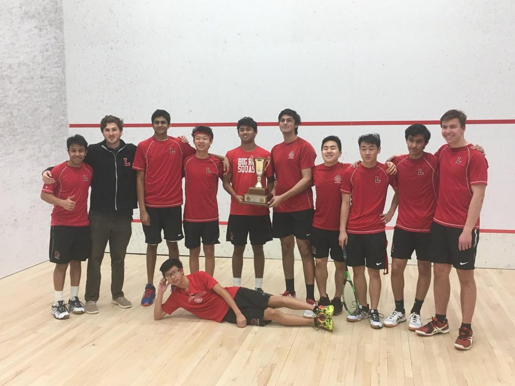 2019 MAPL Boys' Squash Champions- The Lawrenceville School