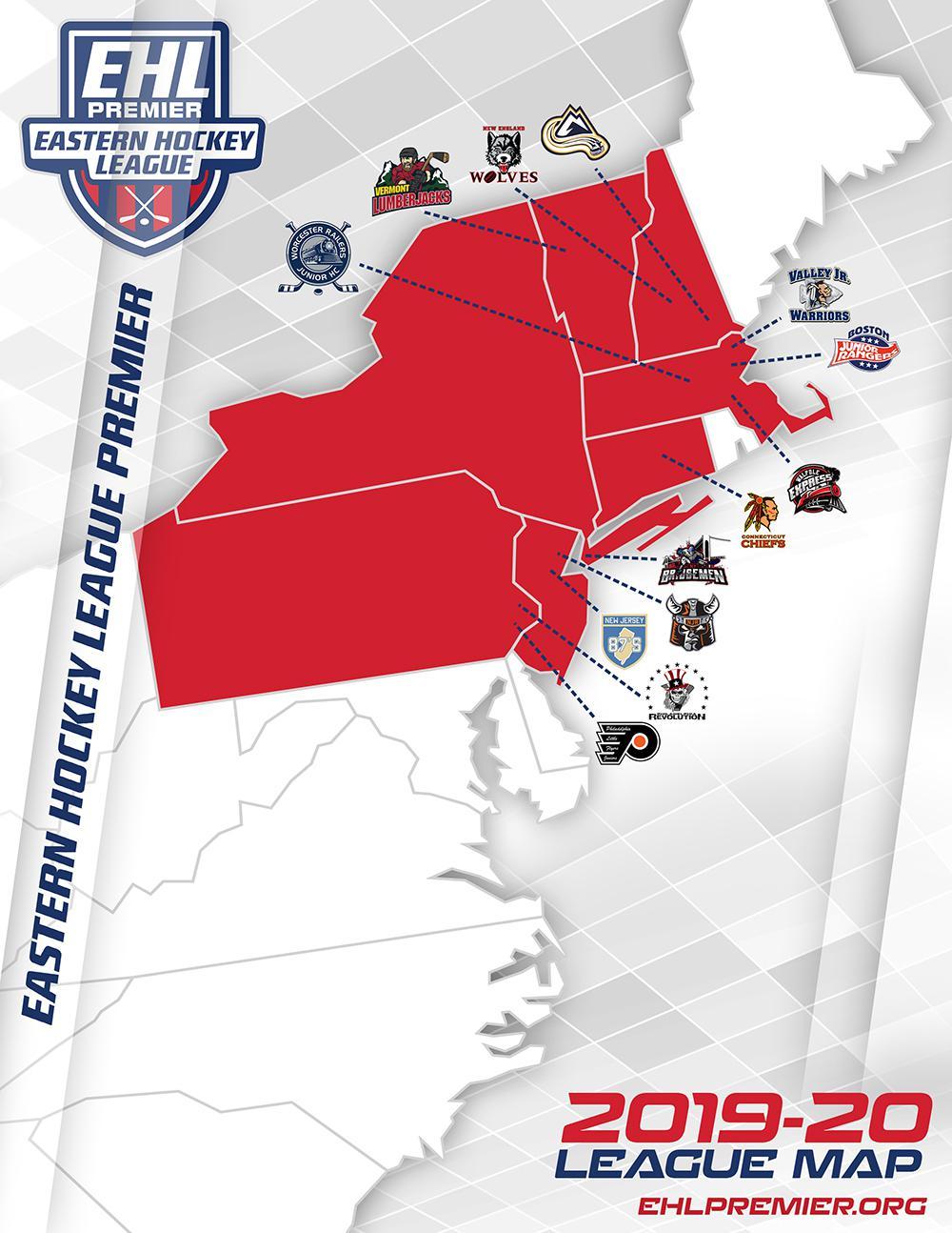 EHL Premier Map