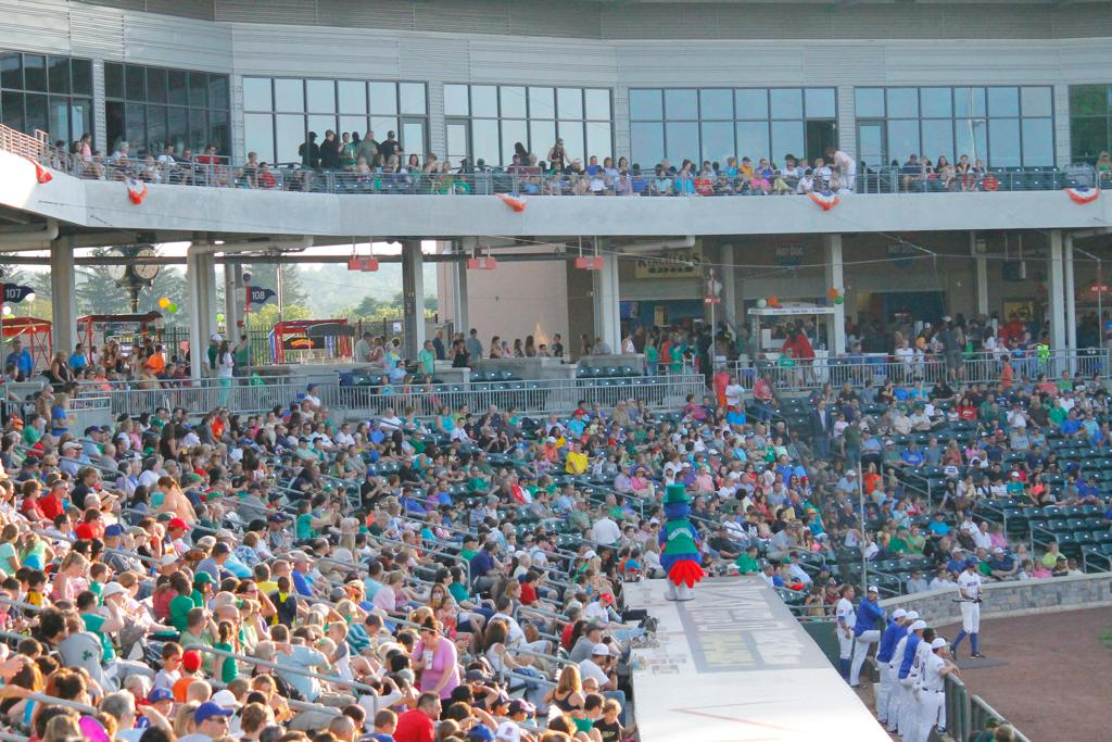 Celebrate your Irish Heritage with the Rockland Boulders!
