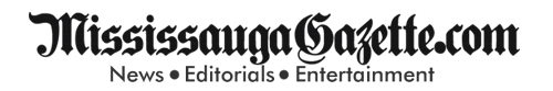 Mississauga Gazette Logo and Mississauga News Logo. Mississauga Newspaper. Matt Mahoney and Bonnie Crombie. Kevin J. Johnston of the Mississauga Gazette and Khaled Iwamura of Insauga.com
