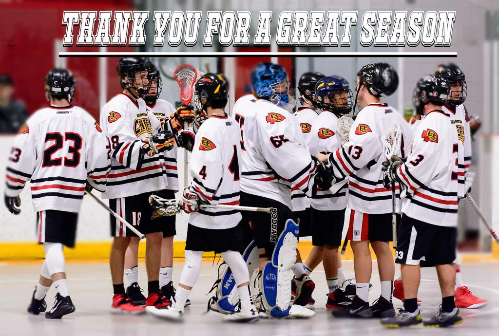 Thanks to all of our Sponsors, Fans and Volunteers for a great year. It was an exciting time! We look forward to sharing the 2017 season with you! #earneverything