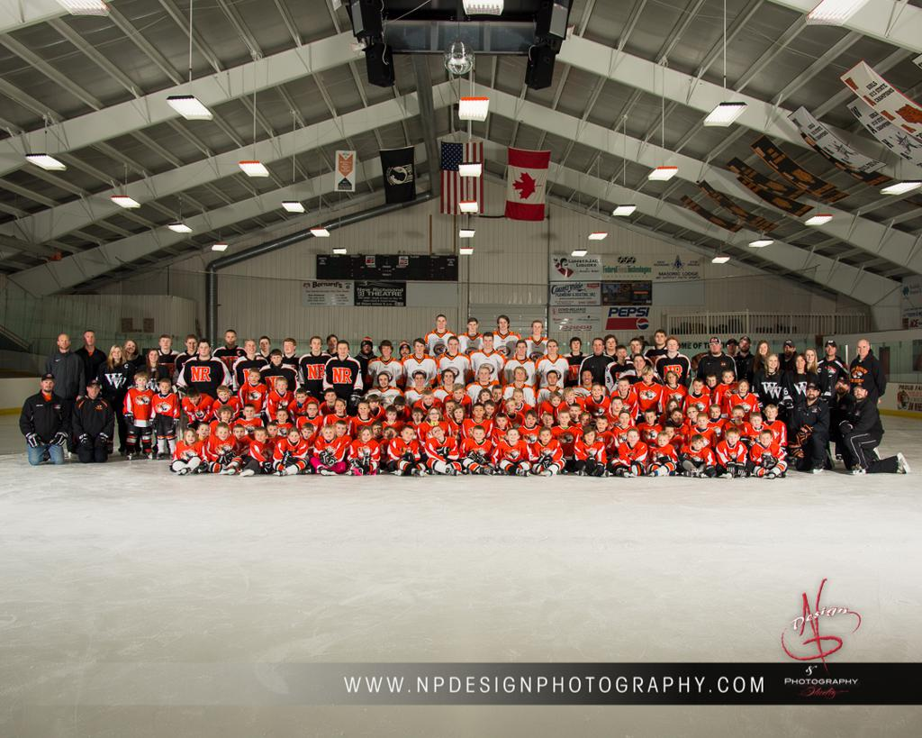 2015-16 NRHS TIGERS & NRYHA Mini Mite Program