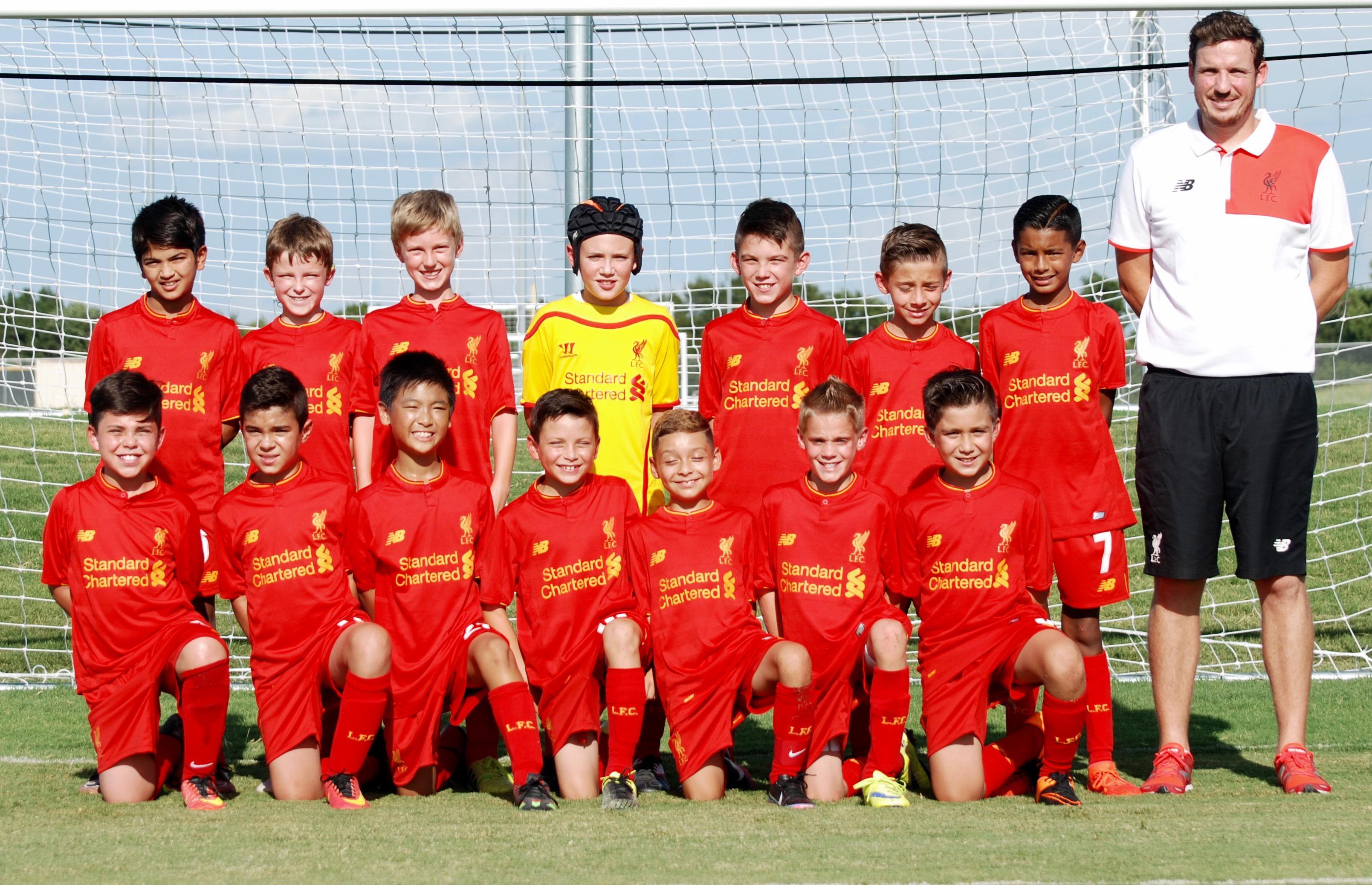 Liverpool 06 Boys Dalglish Mole