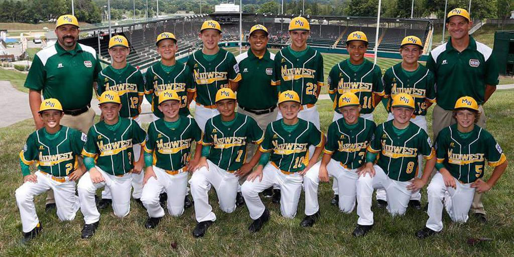 2016 Little League Midwest Regional Champions