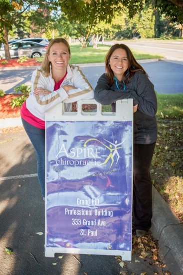 St. Paul Chiropractor Dr. Lindsey Tevlin and Dr. Christine Bartholomew