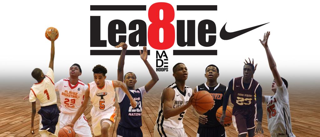 Lea8ue Alumni (from left to right): Bryan Antoine, Elijiah Everett, RJ Davis, Scottie Lewis, Posh Alexander, Anthony Harris, Juwan Gary, Hunter Dickinson