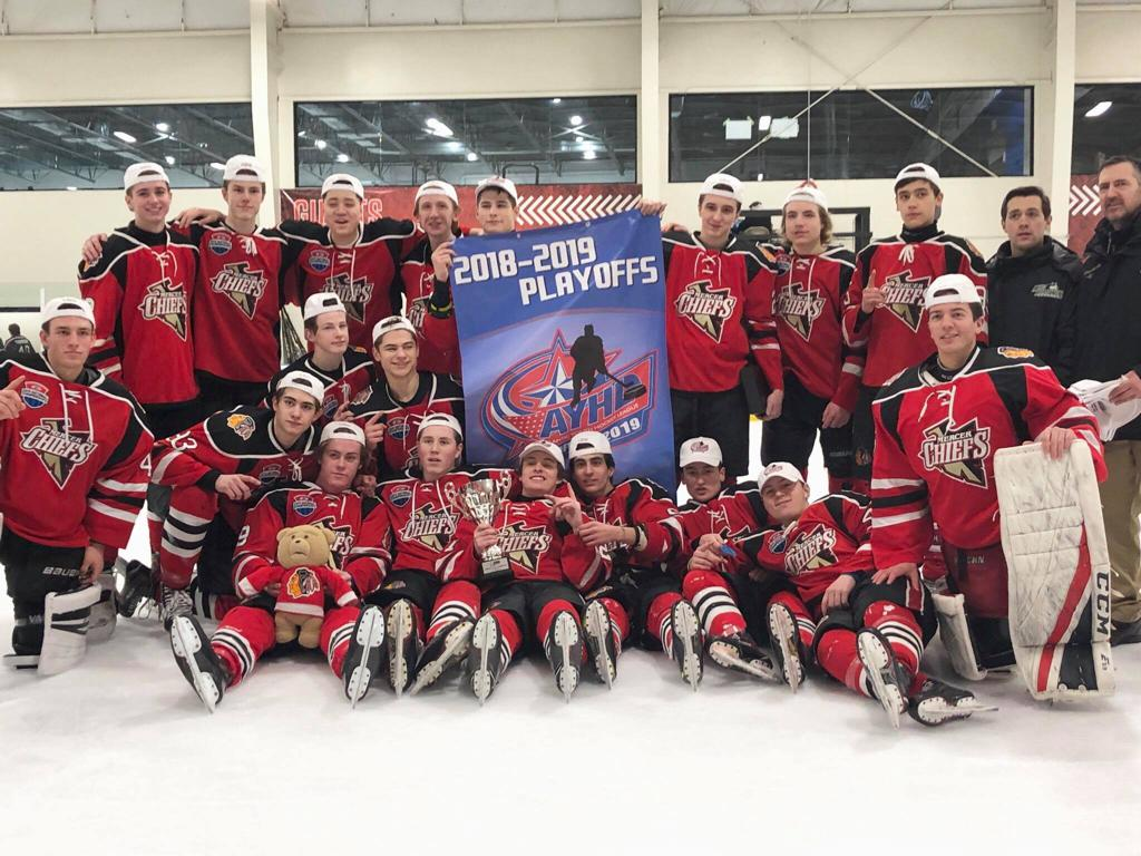 Ice Land, Mercer Chiefs U16 Champions