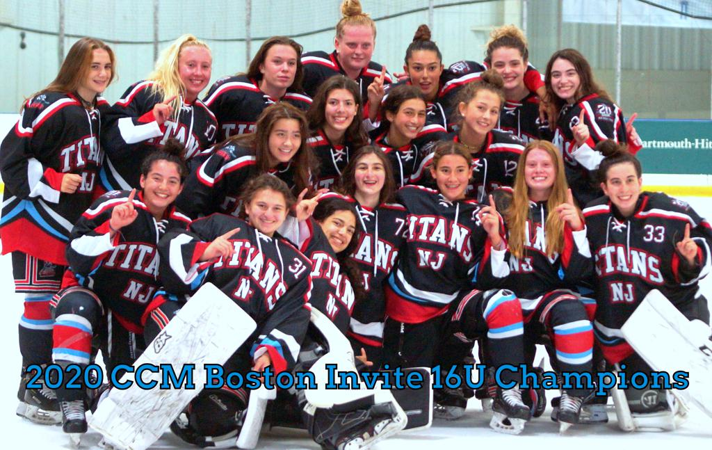 Titans U16 girls win 2020 CCM Invitational Tournament
