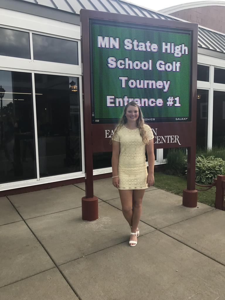 Hannah Hubbart 2019 State Qualifier