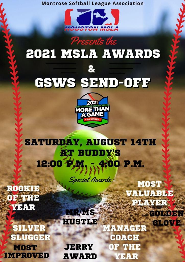Player Awards & GSWS Send-Off Party
