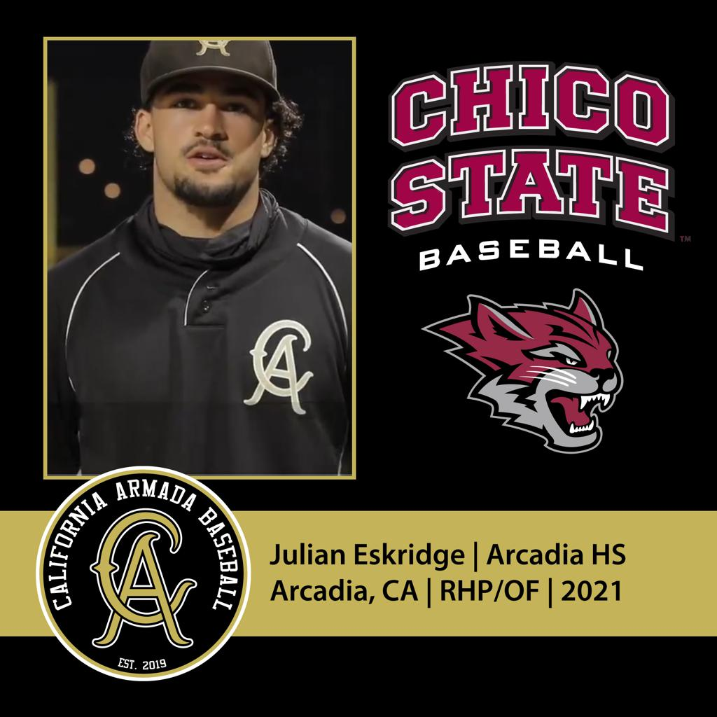 Julian Eskridge Commits to Chico State!