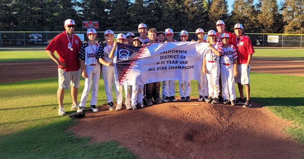 CRLL 9-11 Year Old All Star Team Clinches District Title