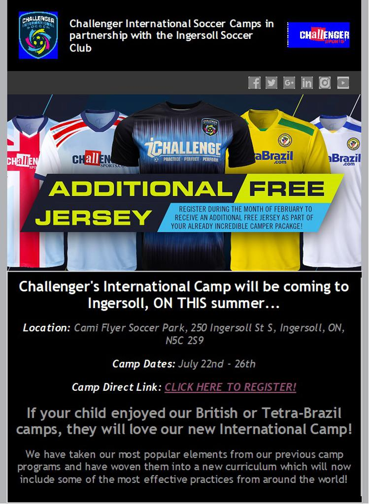 09205b0bc Ingersoll Soccer Club British Soccer Camp