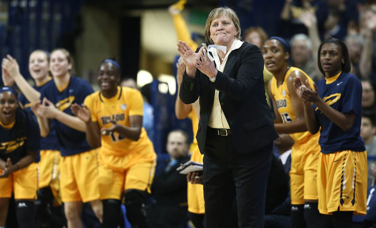Haircut coupons toledo ohio - University Of Toledo Head Coach Tricia Cullop Watches The Action Against Bowling Green State University During A Mac Basketball Game Saturday January 30