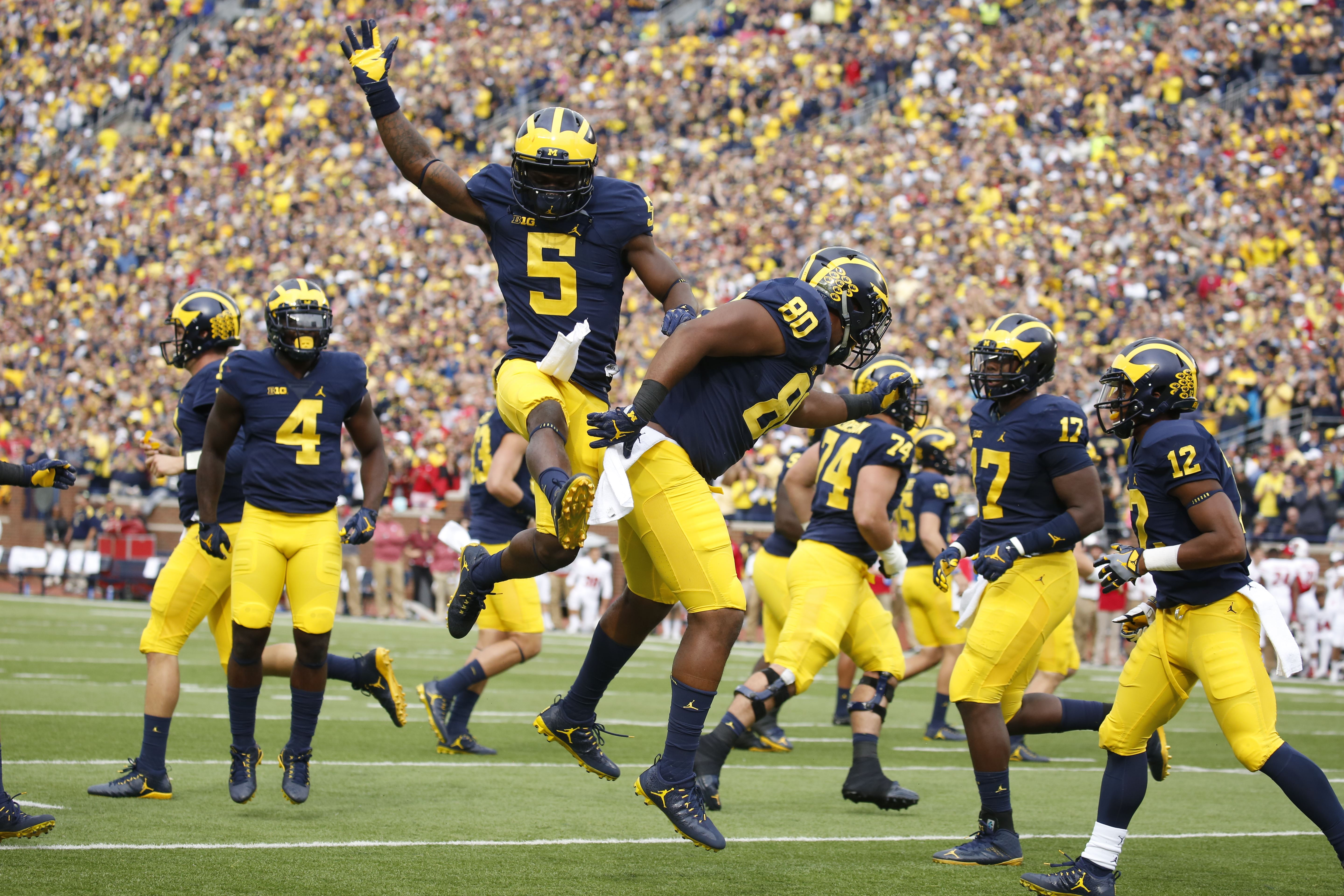 It is an image of Influential Michigan Football Schedule Printable
