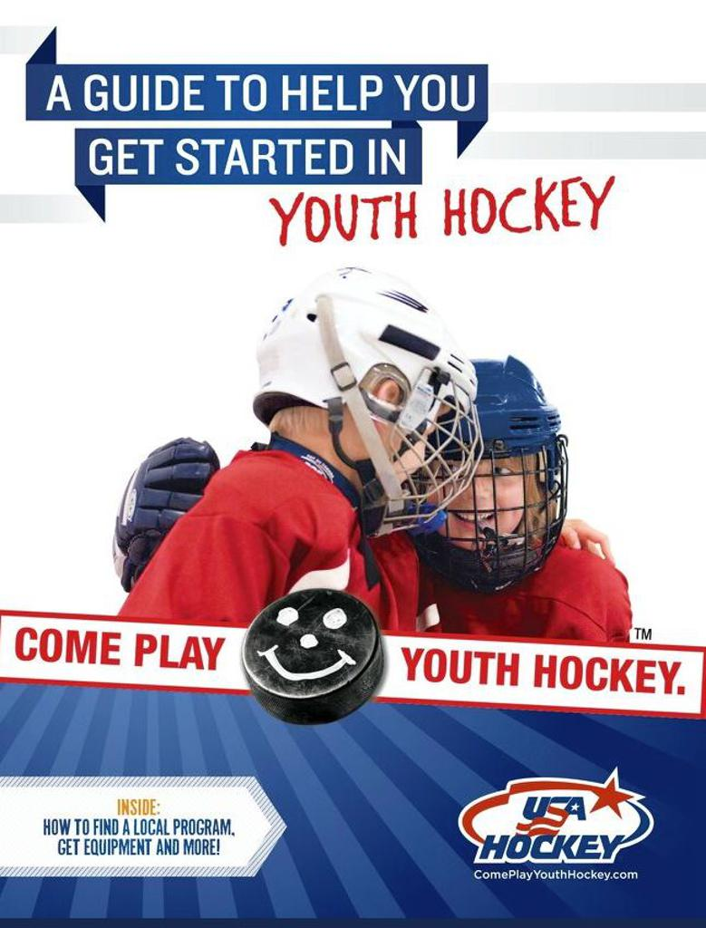 Cover of the USA Hockey Youth Starter Guidebook
