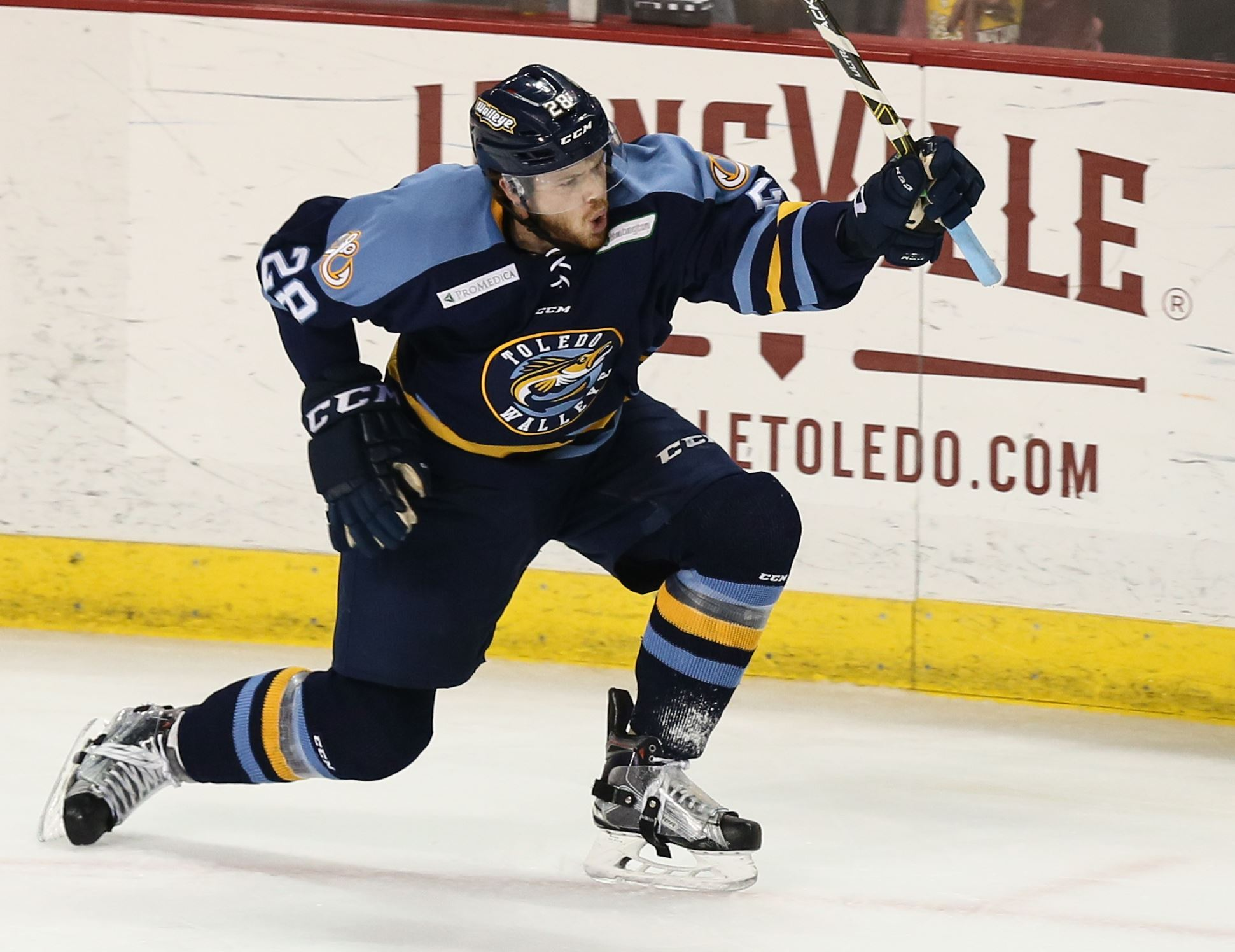 ECHL: Walleye's Bonis Promoted To Minor AHL's Rochester Team