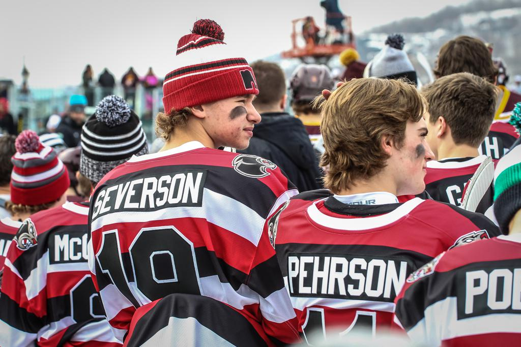 Hockey Day in Minnesota- Lakeville North vs Duluth East 2016