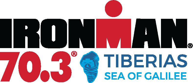 IRONMAN 70.3 Tiberias, Sea of Galilee Official Race Logo