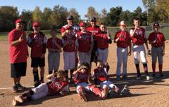 2020 Tigers 12U Red (Minino) 2019 Fall CHAMPIONS of the King of the Diamond