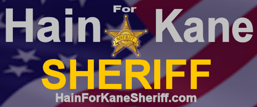 Hain for Kane Sheriff is a proud supporter of Aurora Travel Baseball