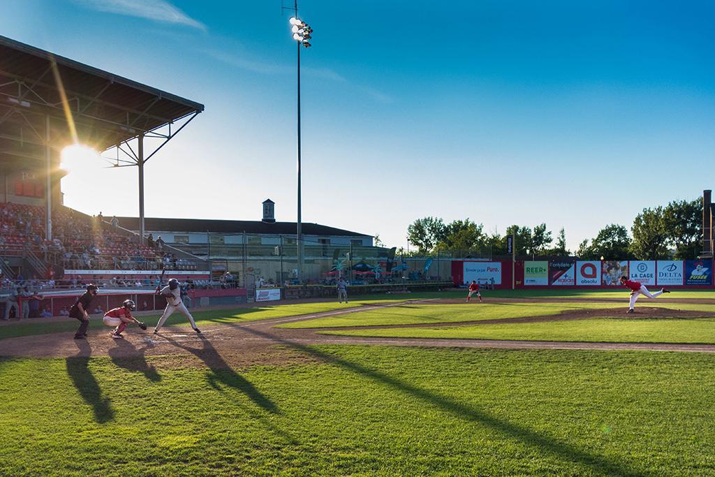 baseball field baseball game