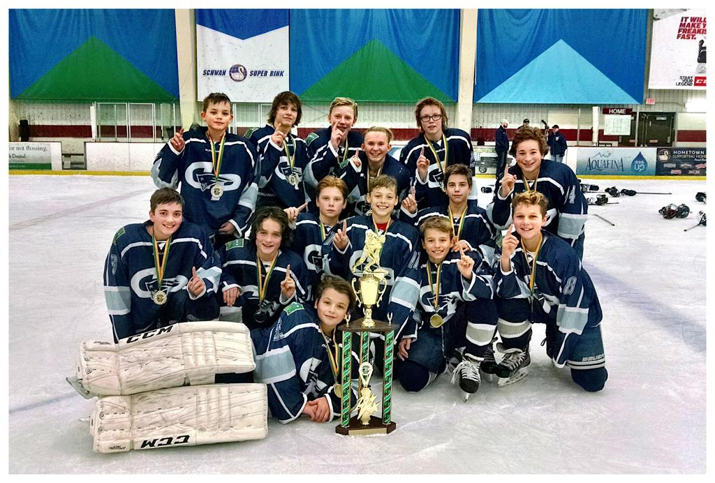 Congrats REBELS! | Photos | Champlin Park Youth Hockey ...