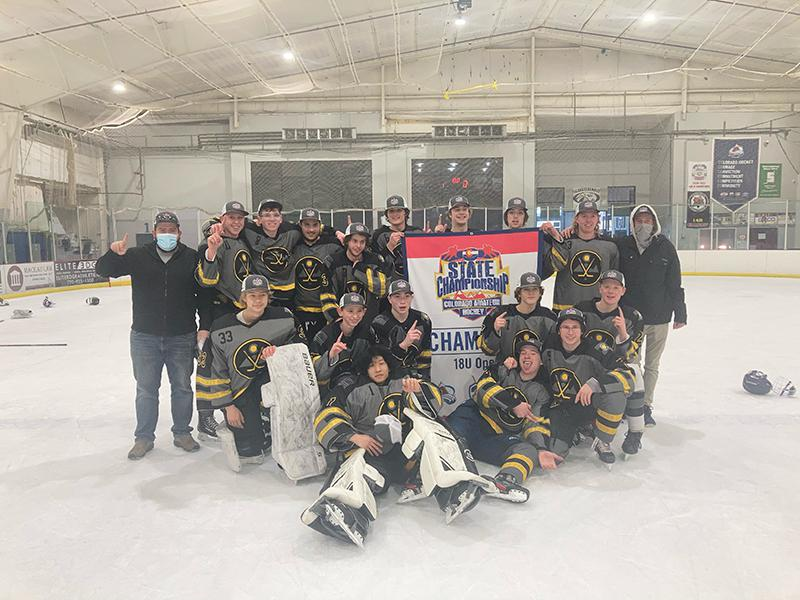 18U Open champion Arvada Hockey Association