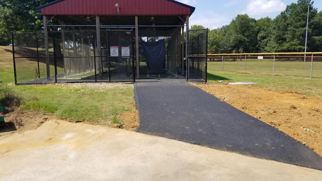 To our new Batting Facility