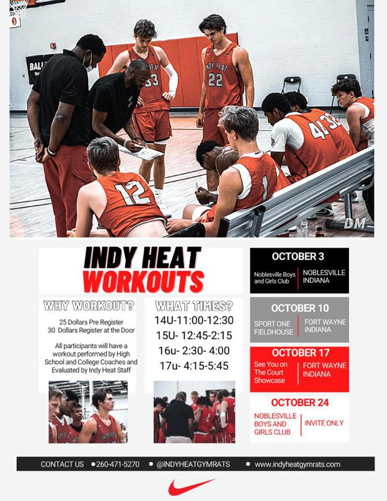 Indy Heat Gym Rats Workouts