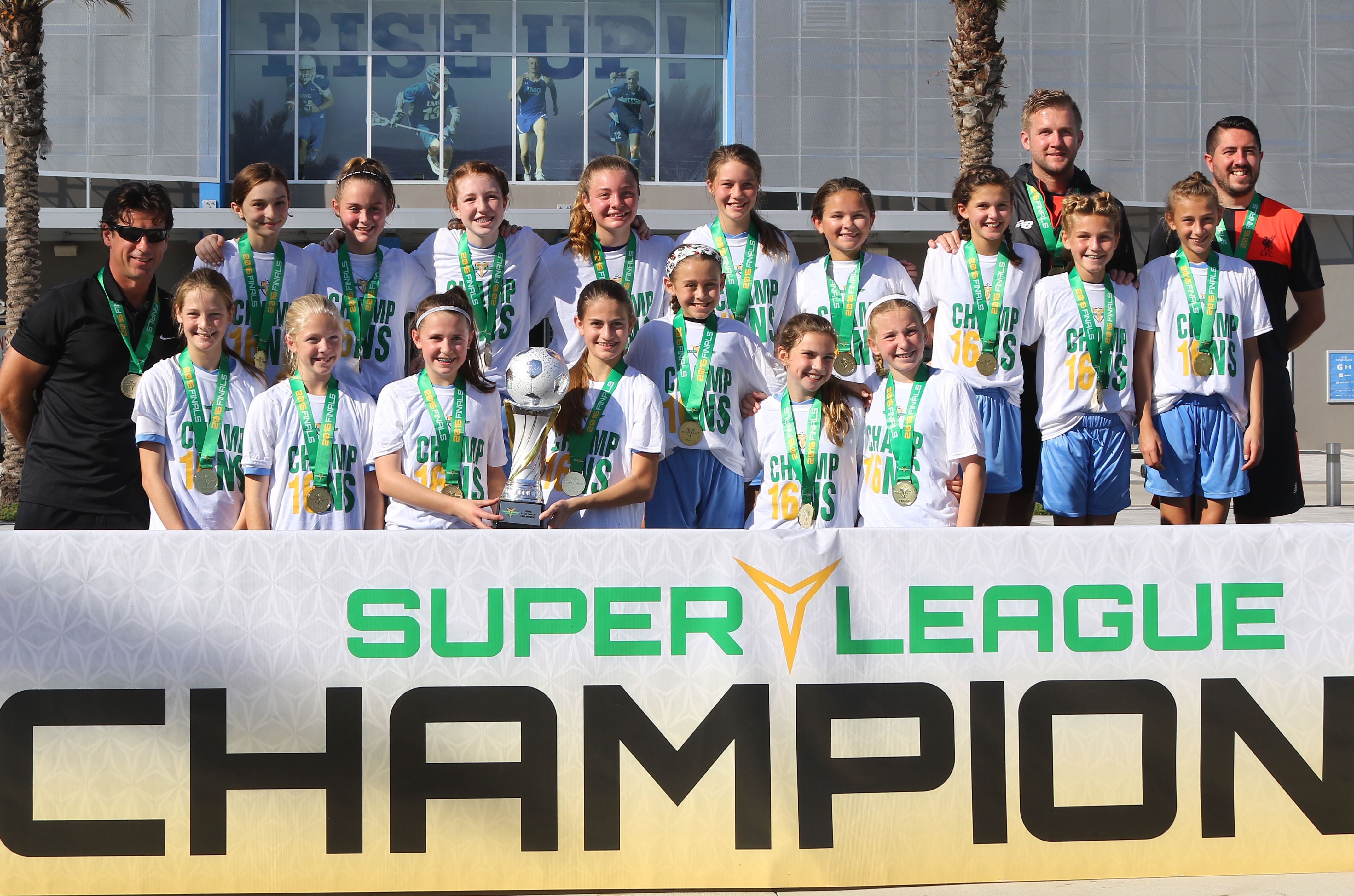u12 Girls 2016 Super Y National Champions