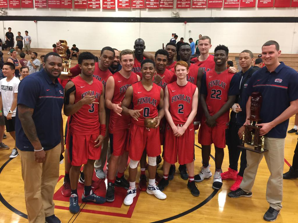 Findlay Prep wins the Iolani Classic