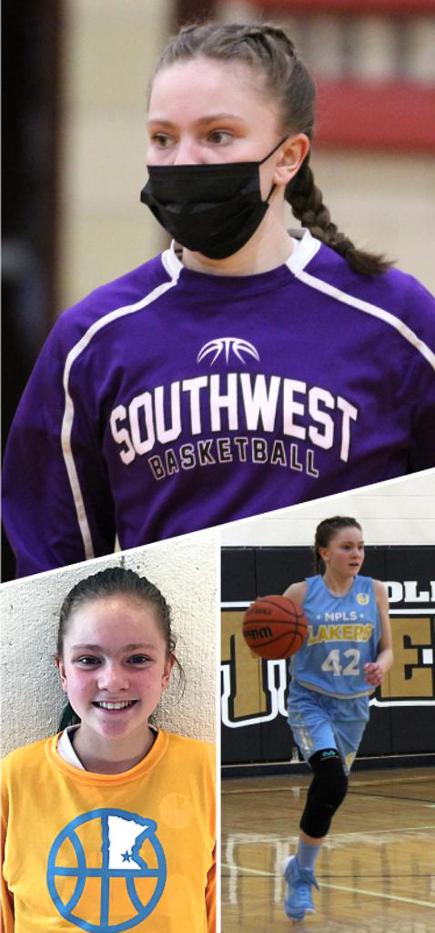 Kaiya Veasey Southwest Lakers Class of 2023  Mpls Lakers 2015-2018