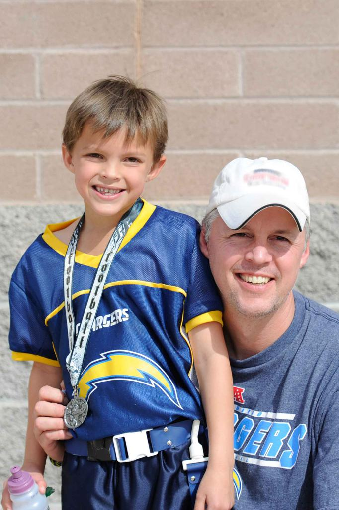 Cory Zignego - owner of Carbonite Sports Flag Football in River Falls, WI