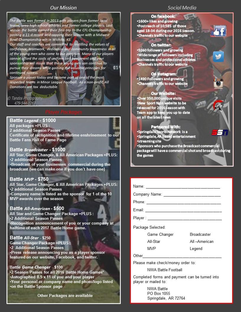 Sponsor Flyer Page 2
