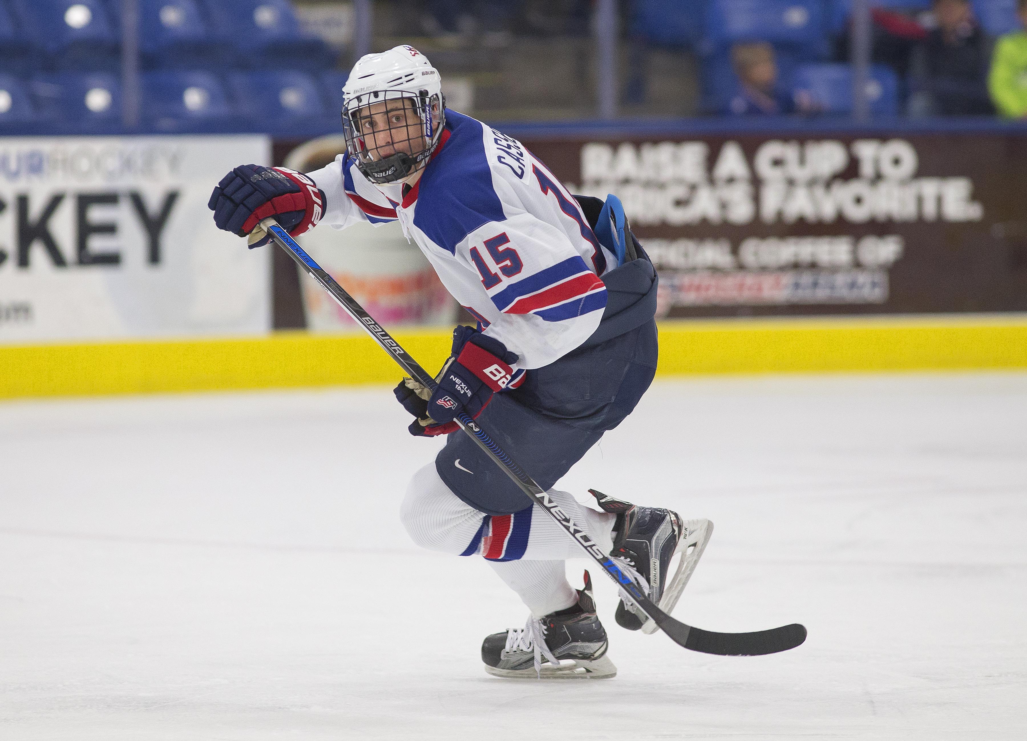 USA Hockey National Team Development Program Joey Cassetti