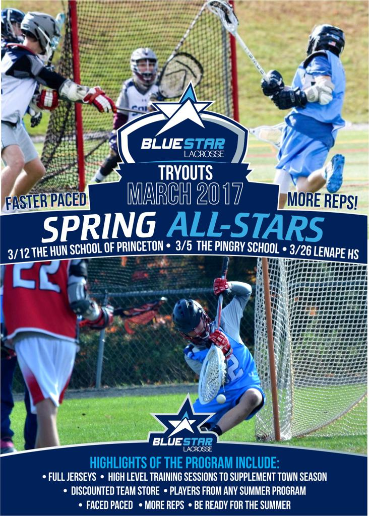 Blue Star Lacrosse Spring All-Stars 2017