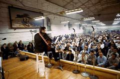 Johnny at Folsom Prison