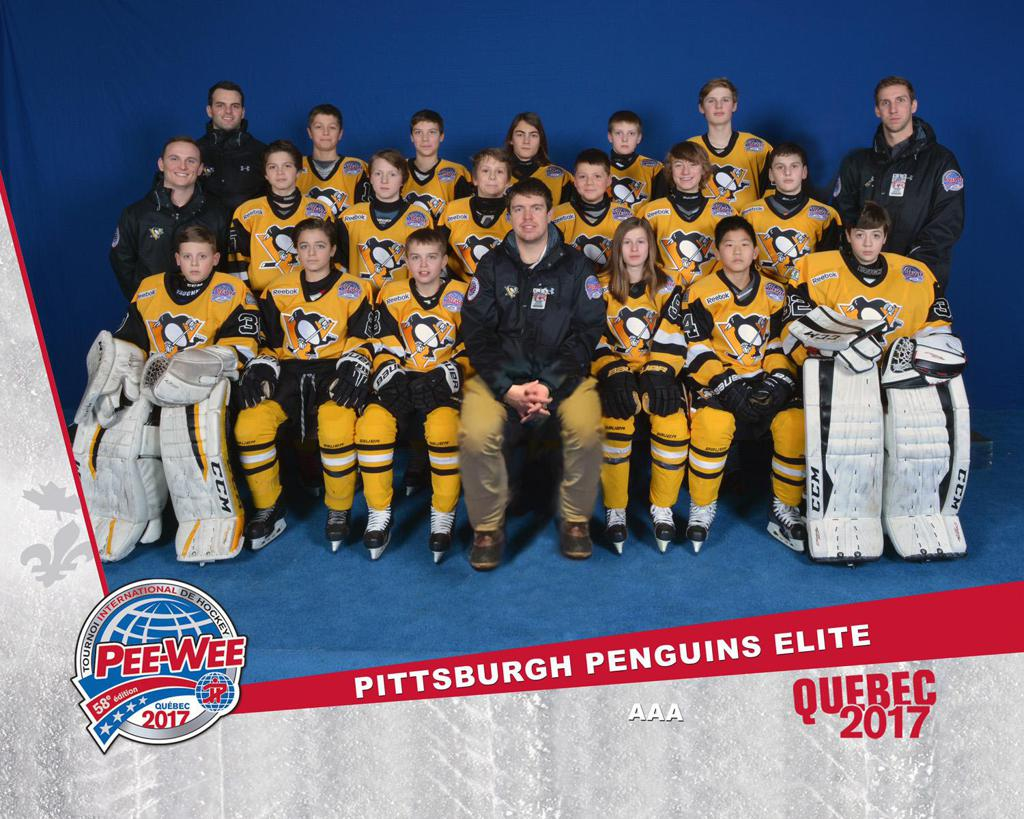 Pen's Elite 2017 Quebec Team