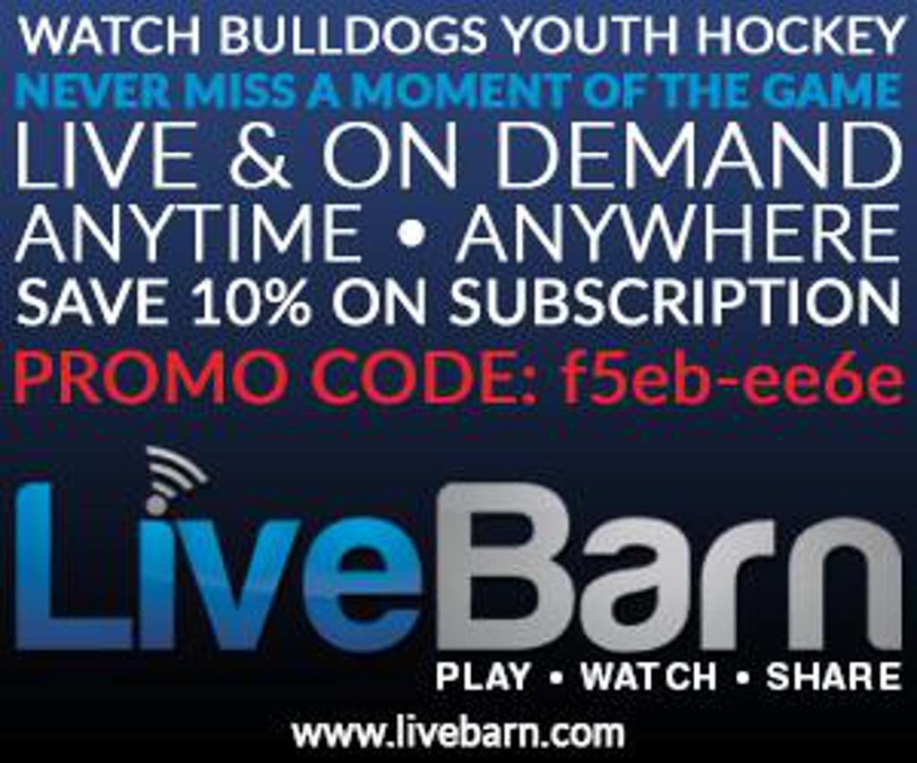 Live Barn - Watch Bulldogs Hockey Live