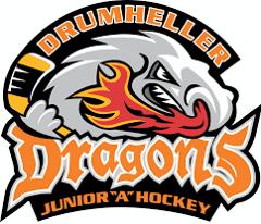 Drumheller Dragons' Logo
