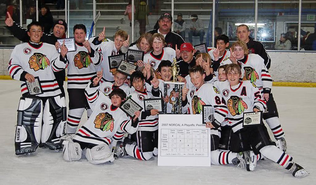 2006-2007 Peewee A NORCAL Champions