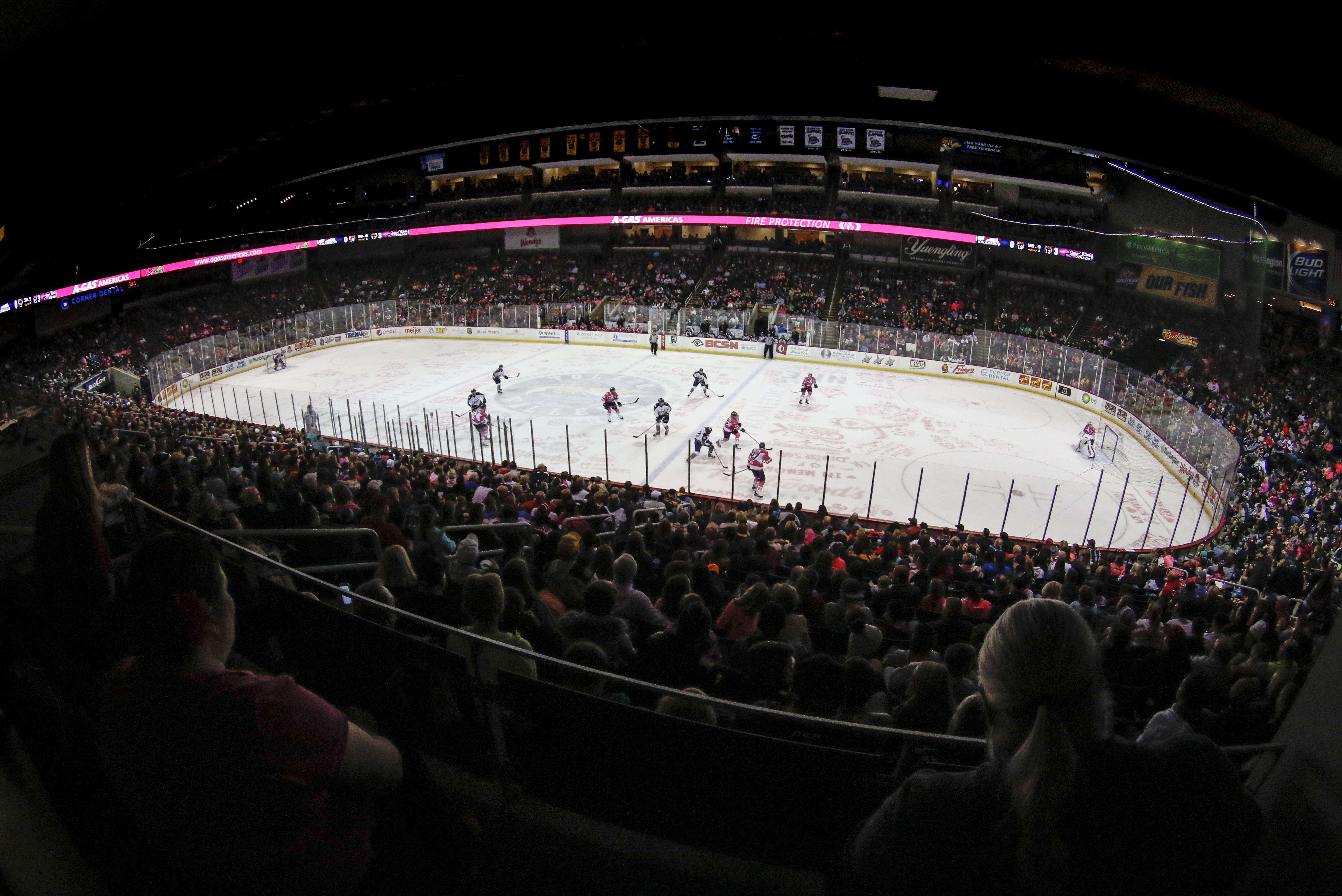 ECHL: Walleye Notch 3-2 Overtime Win Against Tulsa