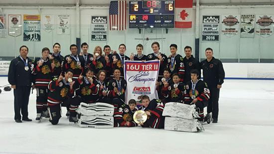 Bantam 16AA CAHA Champions