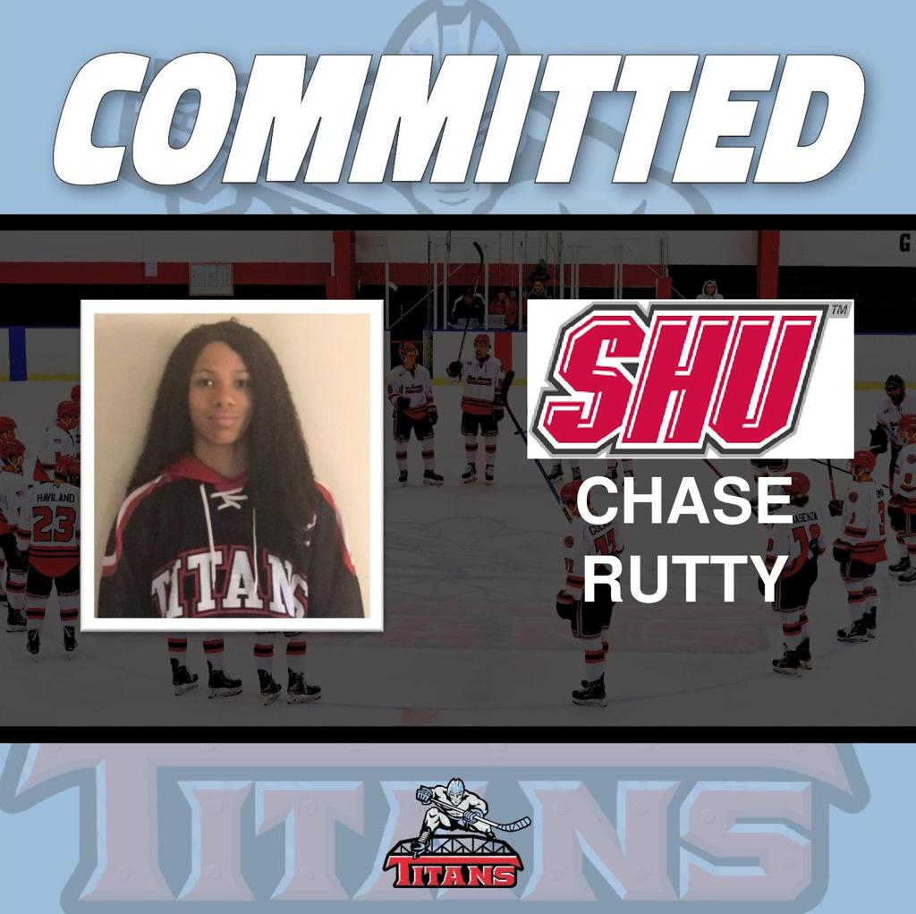 Titans Girls U19 Defenseman Chase Rutty makes NCAA D1 commitment to Sacred Heart University